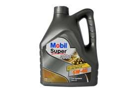 Масло моторное Mobil Super 3000X1 5W40 A3/B3/B4 SN/SM 4L
