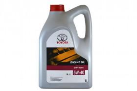 Масло моторное Toyota 5W40 SL/CF A3/B3/B4 5L